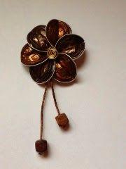 Broche flor nespresso