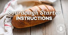 Sourdough Starter Instructions