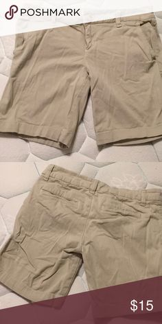 Aeropostale Khaki Shorts Size 7/8. Worn once for family pictures. Needs to be ironed. Great condition. Pet and smoke free home. Aeropostale Shorts