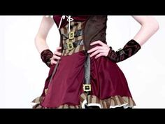 Steampunk Woman's Sexy Costume - YouTube By California Costumes www.californiacostumes.com