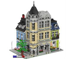 The Old Corner Square by Brick Builders Pro