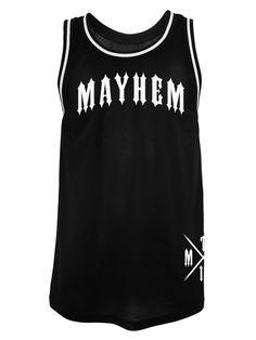 Pain Crew Mesh Tank - MEN OF MAYHEM -  #mesh #tank # #Black  #badass #mayhem #clothing #bikes #13 #selfjustice #tattoo #harley #girl #fashion #tattoo #Look #Fitness #Model #ink #crew #True #urban #street #gang #fight #mc #crime #oldschool #guns #menofmayhem13 #mma #fighter #bike #cage #motorcylcle #apparel #chopper #onlinestore #menofmayhem