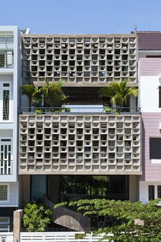 Vo Trong Nghia Architects - Project - Binh Thanh House