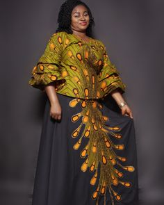 TuruGlitz_Couture - We strive to deliver the best in fashion and style. African Fashion Ankara, Latest African Fashion Dresses, African Dresses For Women, African Print Dresses, African Attire, Ankara Skirt And Blouse, Ankara Dress Styles, Long Skirt And Top, African Traditional Wear
