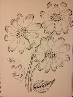 Zentangle Flowers!