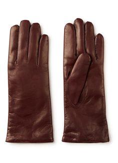 Kessler - Ava handschoenen van leer - Kersenrood Best Gloves, Ava, Products, Beauty Products