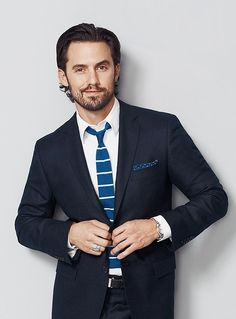 Milo Ventimiglia Loved him in Heroes and love him a million times more in This Is Us! Milo Ventimiglia, Famous Men, Famous Faces, Gorgeous Men, Beautiful People, Beautiful Boys, Hot Actors, Raining Men, Gilmore Girls