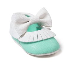Mary Jane Baby Moccasin Shoes
