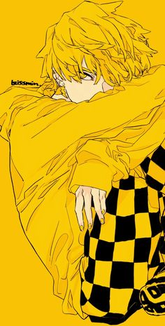 Demon Slayer: Kimetsu no Yaiba, Zenitsu, Tanjiro / 鬼滅まとめ - pixiv Anime Boys, Manga Anime, Gato Anime, Anime Demon, Anime Art, Demon Slayer, Slayer Anime, Adashino Benio, Kawai Japan