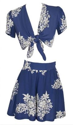 Trashy Diva 1940's Blue Hawaii Carole Top 10 and Shorts S12 Set Sold Out | eBay