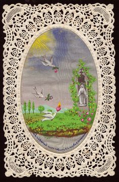 Vintage holy card-so sweet