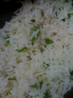 Copycat Chipotle Cilantro Lime Rice  Made this last week, nice fresh addition to burritos, gives that authentic Chipotle taste, so yummy!