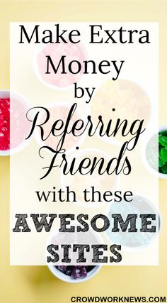 Want to make some easy money? Here is a list of awesome websites which give you rewards for referring friends. Check them out and earn money online! Get Money Online, Online Surveys For Money, Paid Surveys, Online Work From Home, Work From Home Jobs, Make Money From Home, Way To Make Money, How To Make, Earn Extra Cash