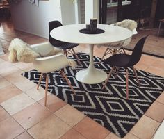 New table and chairs Table And Chairs, Rooms, Contemporary, Decoration, House, Home Decor, Home, Bedrooms, Decor