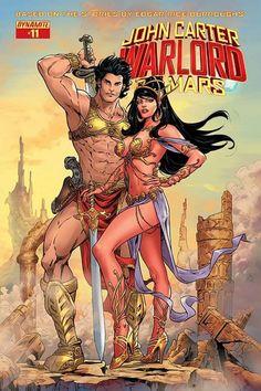 John Carter: Warlord of Mars 11 - Comix Asylum Bd Comics, Comics Girls, Science Fiction Art, Pulp Fiction, Comic Book Covers, Comic Books Art, Robert E Howard, Comics Vintage, John Carter Of Mars