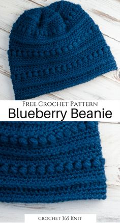 The perfect thing to work on while it's still chilly! It's fun, free, and super easy! Love this crochet pattern! Crochet Adult Hat, Easy Crochet Hat, Crochet Baby Hat Patterns, Crochet Cap, Crochet Baby Hats, Crochet Scarves, Free Crochet, Crocheted Hats, Crochet Geek