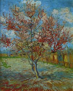 "Vincent van Gogh, ""Pink Peach Tree"""
