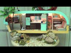Creating Dollhouse Miniatures: Miniature Travel Trailer