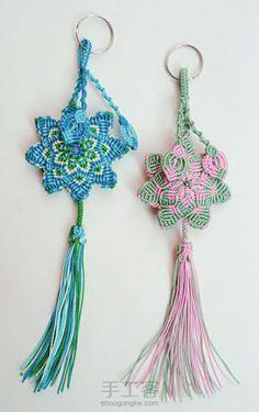 [结绳]美美哒Macrame荷包挂件(一)