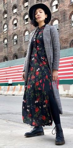 54520c0b NWT ZARA Roses Floral Print Long Flowing Shirt Dress Midi Size XS Ref.3198/
