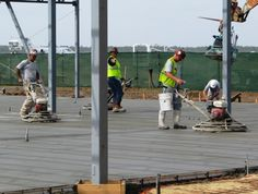 how to prepare, Place, pour test and Finish a Concrete Floor -- via wikiHow.com