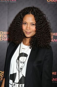 Thandie Newton Hair - rocked totally natural waves