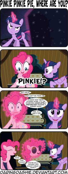 Pinkie Pinkie Pie, Where Are You? by DaringDashie.deviantart.com on @deviantART