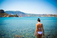 Agios Stefanos beach #kos #greekislands #greece Agios Stefanos Beach, Sister Wedding, Greek Islands, More Photos, Holidays, Bikinis, Beautiful, Greece, Greek Isles