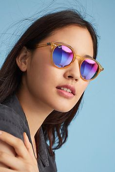 dbeb071811f93 Anthropologie Ray-Ban Hermosa Round Sunglasses Fashion Trends, Fashion  Outfits, Womens Fashion,