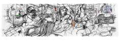 ERIK VAN LIESHOUT Moose Art, Drawings, Artist, Animals, Apple, Dibujo, Apple Fruit, Animales, Animaux