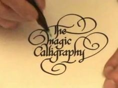 Writing Calligraphy / How To Learn Calligraphy