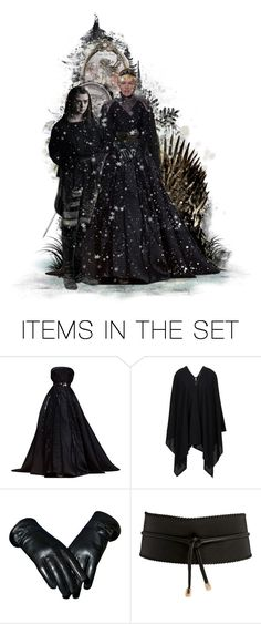 """""""Enemies Face Off! - The Wolf & The Lioness"""" by girlinthebigbox ❤ liked on Polyvore featuring art"""