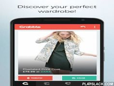 """Grabble: Shop Fashion Faster  Android App - playslack.com , """"Love fashion? Love Tinder? Then the free Grabble app is the best thing you'll download for your shopping and clothing needs. Find fashion and shop for your OOTD Outfit Of The Day amongst the best new styles and designer trends. Browse through our top brands and emerging designers and shop from your favourite high street stores and online retail giants...all in one place.WHY YOU SHOULD USE THE GRABBLE APP:★ GET SALE ALERTS:You don't…"""