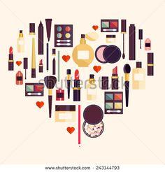 Стоковые иллюстрации и мультфильмы Cosmetics | Shutterstock