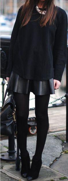 Black + black.
