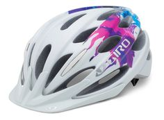 Giro Women's Verona Cycling Helmet  -- Any helmet will do --  I want to do more biking in the spring/summer...  I would also need a mirror of sorts for either the handle bars or the helmet