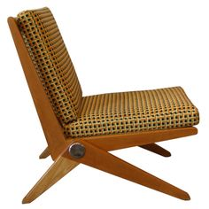 1stdibs - Scissor Chair Designed by Pierre Jeanneret for Knoll explore items from 1,700  global dealers at 1stdibs.com