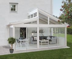 super Ideas for house big garden dreams Pergola Ideas Backyard Pergola, Pergola Kits, Pergola Swing, Outdoor Rooms, Outdoor Living, Sunroom Addition, Enclosed Patio, Pergola Attached To House, Big Garden