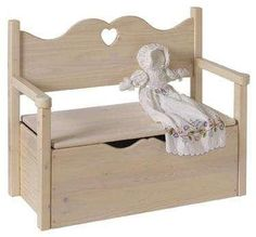 Toy Box / Window Seat for Girls Room