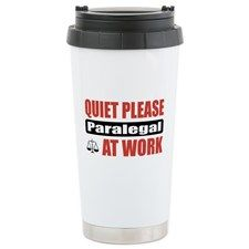 Paralegal Work Travel Coffee Mug - Office Gift Ideas (CafePress.com)