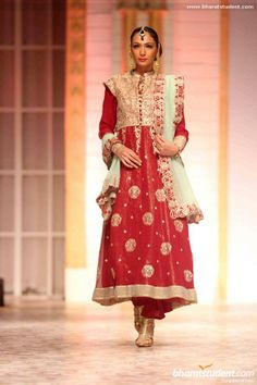 Anarkali by Meera & Muzaffar Ali at Aamby Valley City India Bridal Fashion Week 2013