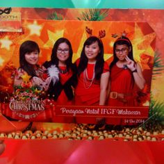 Christmas celebration of IFGF Makassar
