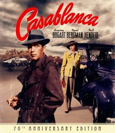 Casablanca poster, t-shirt, mouse pad Humphrey Bogart, Bogart And Bacall, Iconic Movies, Classic Movies, Casablanca Movie, Casablanca 1942, Vintage Movies, Vintage Posters, Posters