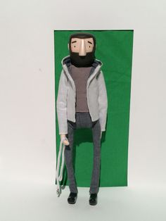 Stop motion puppet