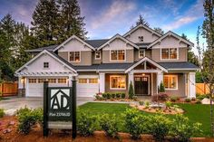 Modern Craftsman House Plan With 2-Story Great Room - 23746JD | Architectural Designs - House Plans