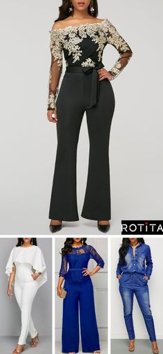 6de1d77809d08 Turn heads this holiday season in nice jumsuit from Rotita.These  figur-flattering finds