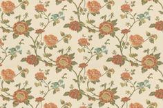 Large Buds - Robert Allen Fabrics Poppy