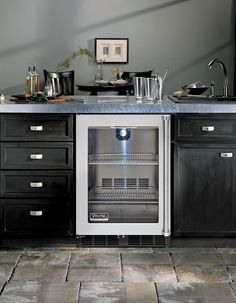 """Viking VRCI5240GXSS 24"""" Undercounter Refrigerator with 5.3 cu. ft. Capacity, 2 Full Extension Wire Shelves, 108 12-oz. Can Capacity, Dual-Pane Argon-Filled Glass Door and LED Display Lighting"""