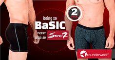 Sólo dos palabras... TwoPack, 2PACK, Seven7. #Rounderguys #Rounderwear #Undies #Underwear #Seven7 #Basic
