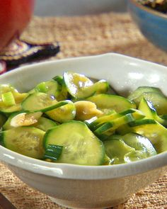 The longer the cucumbers have to soak up the flavors of the marinade the more delicious they will be.